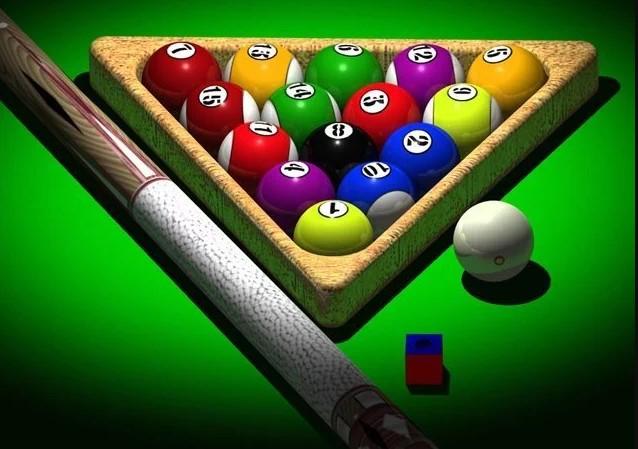 Permainan bola kecil bilyard